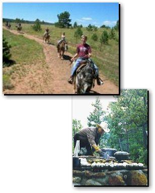 Woodland Park Horseback Riding at Triple B Ranch - Teller