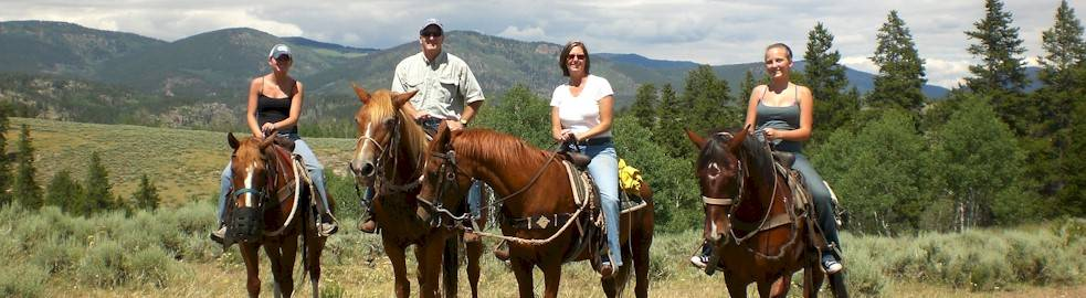 Teller County Horseback Riding