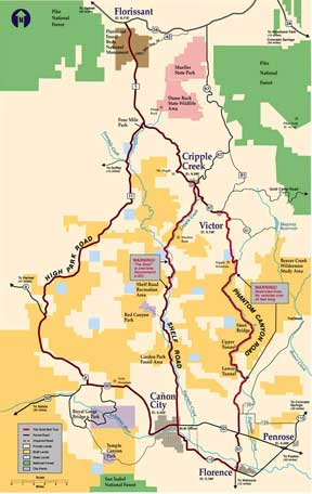 Gold Belt Byway - Teller County Colorado Attractions