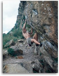 Rock Climbing in Teller County Colorado